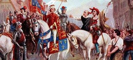 Wat Tyler leads the Peasant's Revolt against the feudal system in London, 06/13/1381. (art: unknown)