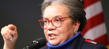 Marian Wright Edelman, president of the Children's Defense Fund. (photo: John F. Kennedy Library Foundation)