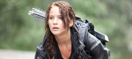Jennifer Lawrence plays Katniss Everdeen in 'The Hunger Games.' (photo: Lionsgate)