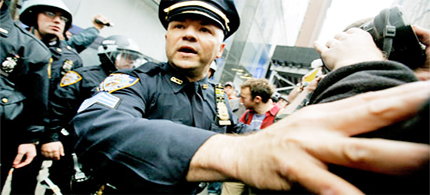 NYPD officers in 2011 recorded 684,300 stop-and-frisks. (photo: Monika Graff/Getty Images)