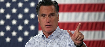Why isn't Obama pushing harder for Romney to release his tax returns? (photo: Justin Sullivan/Getty Images)