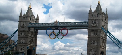 The Tower Bridge in London during the 2012 Olympic games. (photo: Reader Supported News)