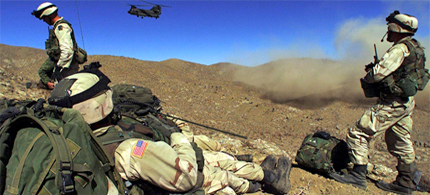 There have been 21 cases of Afghan forces attacking foreign troops in the last year. (photo: EPA)