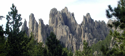 The majestic cathedral spires of the Black Hills in South Dakota. (photo: Mike Bechtol)