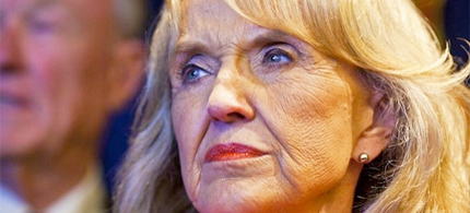 Jan Brewer is fighting against Obama's DREAM Directive in Arizona. (photo: TPMMuckracker)