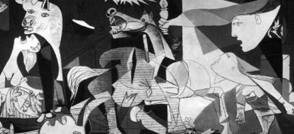 Guernica, by Pablo Picasso. (photo: Burstein Collection/Corbis)