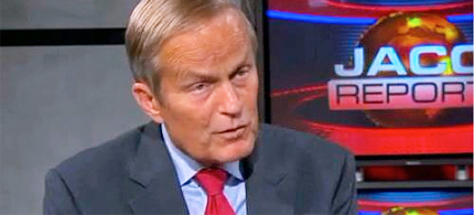 Todd Akin told KTVI-TV: 'If it is a legitimate rape, the female body has ways to try and shut that whole thing down.' (photo: KTV1)