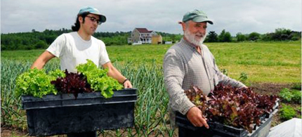 Organic farmers are among the plaintiffs suing Monsanto. (photo: Annie Corrigan/WFIU)