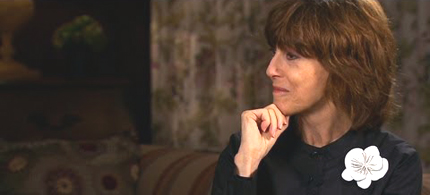 Nora Ephron at a Q&A with Lena Dunham at BAM on April 2, less than three months before her death. (photo: Hilary McHone/NY Magazine)