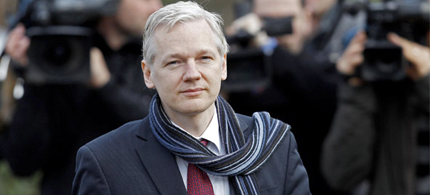 Julian Assange, founder of WikiLeaks. (photo: Cordon Press)