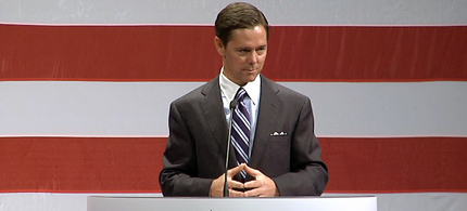 Ralph Reed on the podium at the Republican National Convention. (photo: PBS)