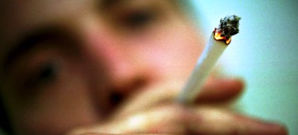 A study shows that there may be a correlation between smoking at a young age and a loss of IQ. (photo: Mykel Nicolaou/Rex Features)