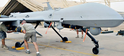 MQ-1B Predator. (photo: AFP/USAF)