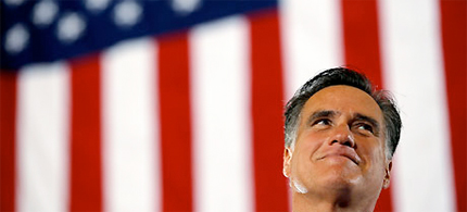 Mitt Romney's tax returns have been a major point of contention in the 2012 campaign. (photo: Brian Snyder/Reuters)