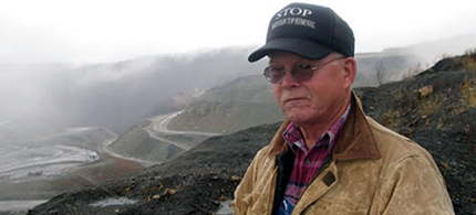 Larry Gibson, a tireless activist and founder of the Keepers of the Mountain Foundation, died of a heart attack on Sunday at his Kayford Mountain home. (photo: Ohio Citizen Action)