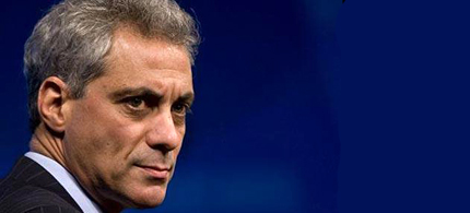 Former Obama chief of staff and current Chicago Mayor Rahm Emanuel. (photo: Chicago Tribune)