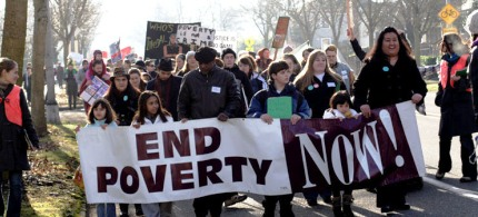 One in six Americans are living in poverty. (photo: Unknown)