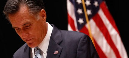 'This latest evidence of Romney's obtuseness appalled credible conservative commentators.' (photo: Jim Young/Reuters)