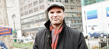 Matt Taibbi at Rolling Stone. (photo: Griffin Lotz/Rolling Stone Magazine)
