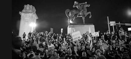 The judge cited that other events in Grant Park were allowed past the curfew. (photo: facingchange.org)