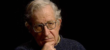 Author, historian and political commentator Noam Chomsky. (photo: Corbis)