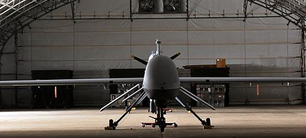Predator drone, an unmanned aircraft. (photo: Everett)