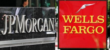JPMorgan Chase and Wells Fargo are being evaluated for financial health. (photo: New York Magazine)