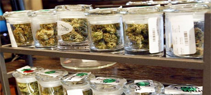 Medical marijuana on sale in Denver. Voters in Colorado and Washington have backed legalizing its sale for recreational use. (photo: Rick Wilking/Reuters