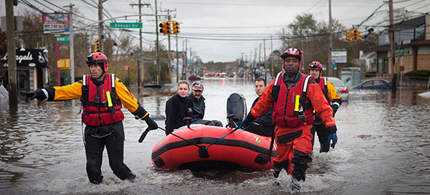 Was Hurricane Sandy caused by climate change? (photo: Victor J. Blue)