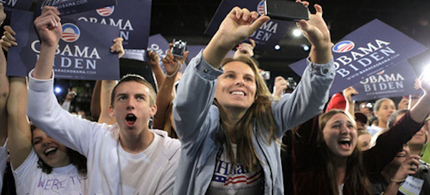 Young voters once again voted for the Democrats. (photo: Getty Images)
