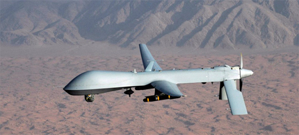 There are 7,000 drones in the US armada of unmanned aircraft, including 800 larger missile-firing drones (photo: Reuters)