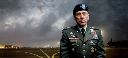 General David Petraeus, the architect of American strategy in Iraq and Afghanistan, at MacDill Air Force Base, in Tampa, Florida, where he headed the US Central Command. (photo: Jonas Fredwall Karlsson/Vanity Fair)