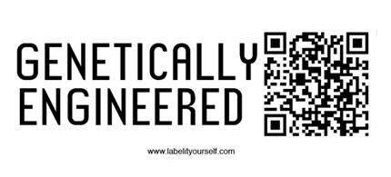 Consumers are taking food labeling into their own hands. (photo: Label It Yourself.org)