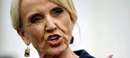 Arizona Gov. Jan Brewer. (photo: Mandel Ngan/Getty Images)