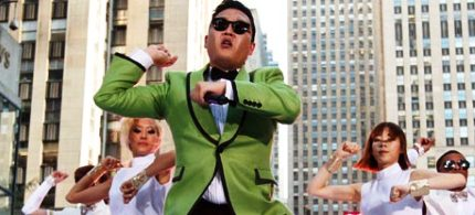 South Korean rapper Psy performs Gangnam Style in New York. (photo: Jason Decrow/Invision/AP)