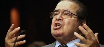 Supreme Court Justice Antonin Scalia. (photo: Peter Kramer/AP)