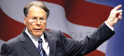 Wayne LaPierre, CEO of the National Rifle Association. (photo: AP/Alex Brandon)