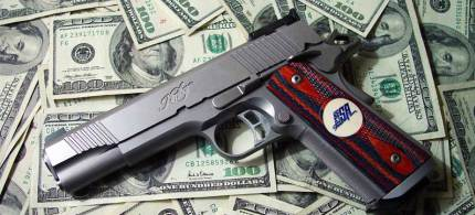 Gibson: 'The NRA gave more than $719,000 to politicians in the 2012 election cycle.' (photo: unknown)