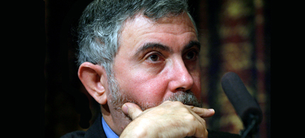 New York Times columnist Paul Krugman. (photo: AP)