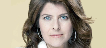 Portrait, author and activist Naomi Wolf. (photo: Sydsvenskan)