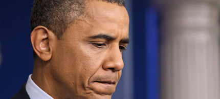 President Obama has been urged to go around Congress on gun control. (photo: AP)