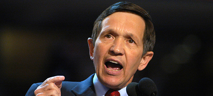 Former Democratic Rep. Dennis Kucinich of Ohio has joined Fox News Channel and Fox Business as a paid contributor. (photo: Getty Images)