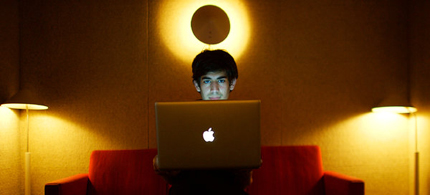 Aaron Swartz in 2009. One person remembered him as 'a complicated prodigy.' (photo: Michael Francis McElroy/NYT)
