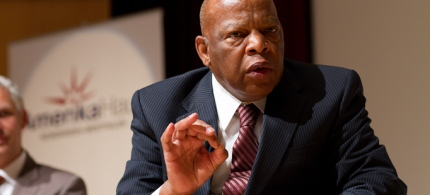 Civil Rights leader John Lewis. (photo: Rudolf Wichert)