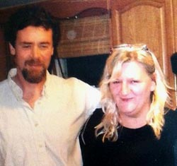 MacAdam Mason with his life partner, Theresa Davidonis. (photo: Mason Family)