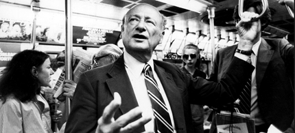 Ed Koch 1924-2013. (photo: Chester Higgins Jr./NYT)