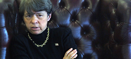 President Obama's choice to head the SEC, Mary Jo White. (photo: Nicole Bengiveno/NYT)