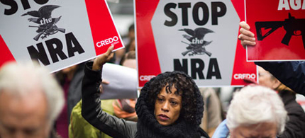 The NRA's enemy list is growing. (photo: CREDO)
