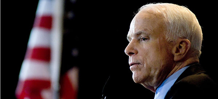 Senator John McCain (R-AZ). (photo: Getty Images)