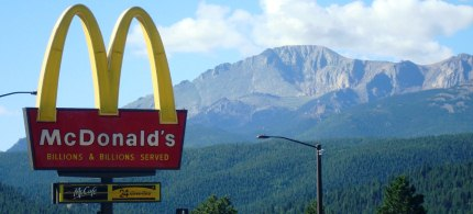 Renter: 'When the logos of these disease promoters like McDonald's are imprinted on the brain before self-control is developed, the results could be tragic.' (photo: unknown)